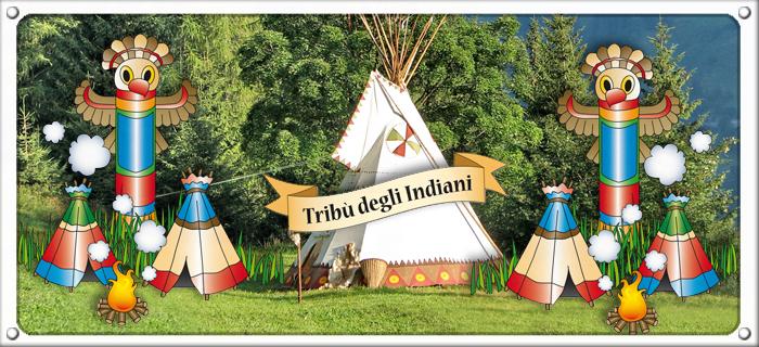 Accampamento degli Indiani Gonfiabile